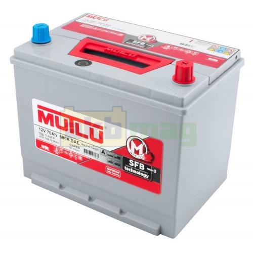 Автомобильный аккумулятор Mutlu 6СТ-70 SFB Series 2 630A