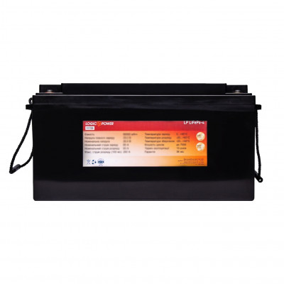 Аккумулятор LogicPower LiFePO4 24V 90AH (BMS 60) Пластик