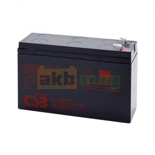 Аккумулятор CSB HR1224WF2