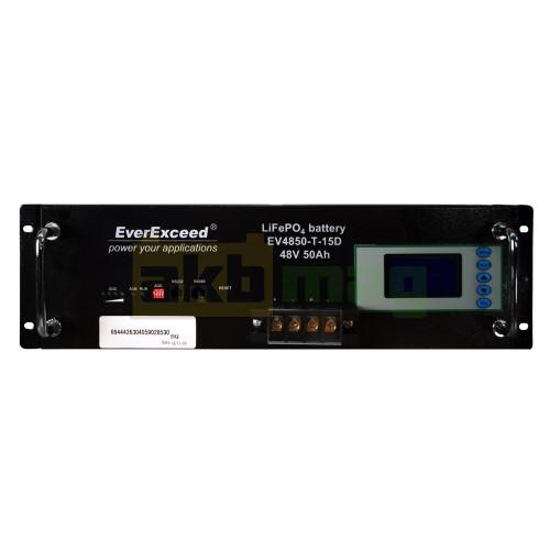 Аккумулятор EverExceed LiFePO4 48V 50AH EV-4850-T-15D