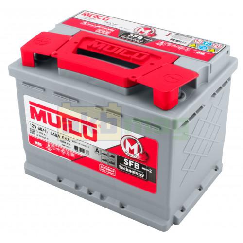 Автомобильный аккумулятор Mutlu 6СТ-60 SFB Series 2 510A