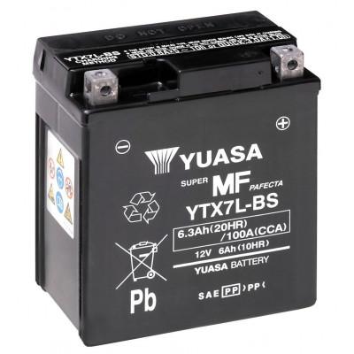 Мото аккумулятор Yuasa 6СТ-6 YTX7L-BS