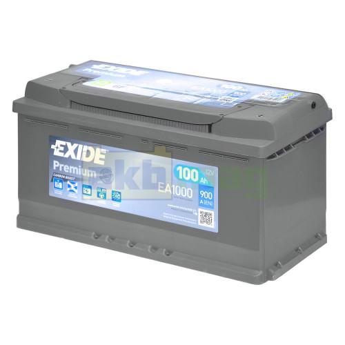 Автомобильный аккумулятор Exide 6СТ-100 Premium EA1000