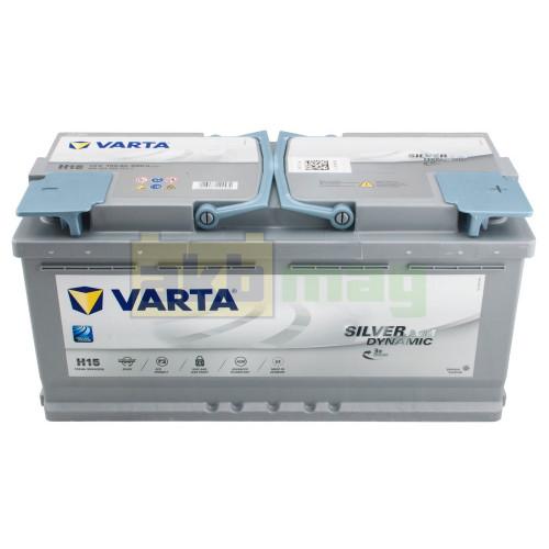 Автомобильный аккумулятор Varta 6СТ-105 H15 Silver Dynamic AGM