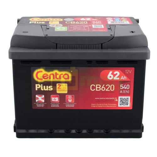 Автомобильный аккумулятор Centra 6СТ-62 Plus CB620