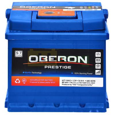 Автомобильный аккумулятор Oberon 6СТ-50 Prestige