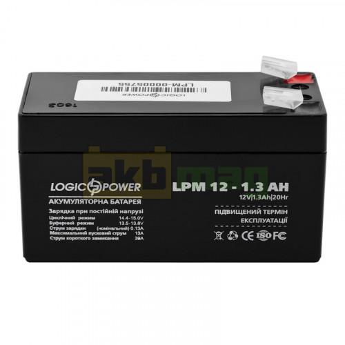 Аккумулятор LogicPower LPM12-1,3