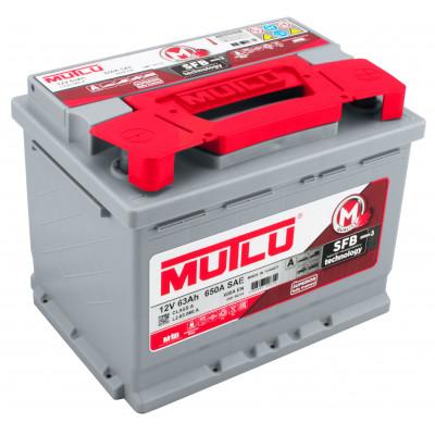 Автомобильный аккумулятор Mutlu 6СТ-63 SFB Series 3 600A