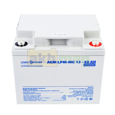 Аккумулятор LogicPower LPM-MG12-40