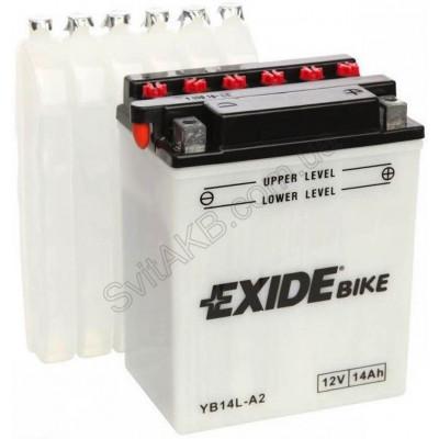 Мото аккумулятор Exide 6СТ-14 EB14L-A2