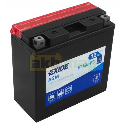 Мото аккумулятор Exide 6СТ-12 ET14B-BS