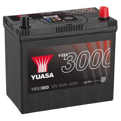 Автомобильный аккумулятор Yuasa 6СТ-45 SMF YBX3053