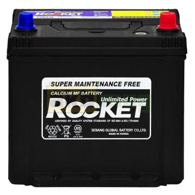 Автомобильный аккумулятор Rocket 6СТ-60 55D23L