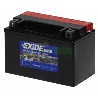 Мото аккумулятор Exide 6СТ-8 ETX9-BS