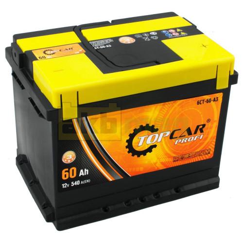 Аккумулятор Top Car 6СТ-60 Profi