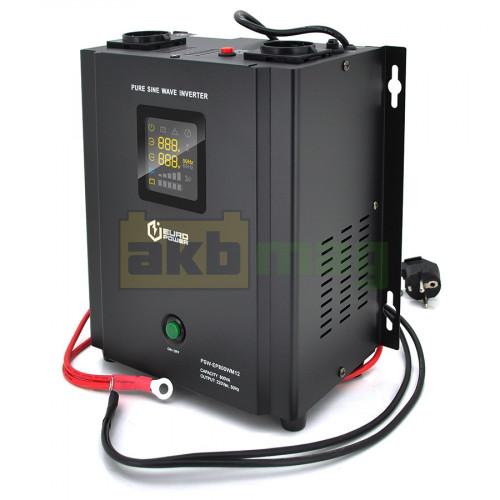 ИБП с правильной синусоидой Europower PSW-EP800WM12