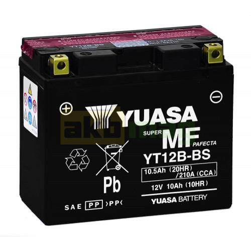 Мото аккумулятор Yuasa 6СТ-10,5 YT12B-BS