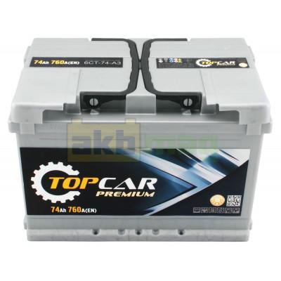 Аккумулятор Top Car 6СТ-74 Premium