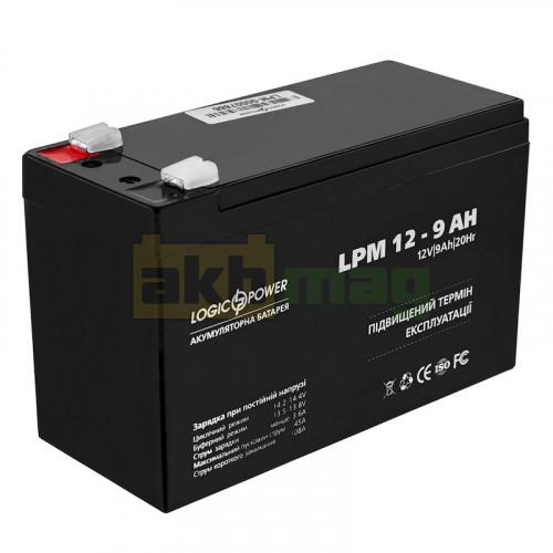Аккумулятор LogicPower LPM12-9
