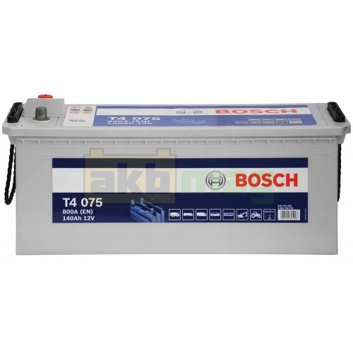 Грузовой аккумулятор Bosch 6СТ-140 T4 076 0092T40760