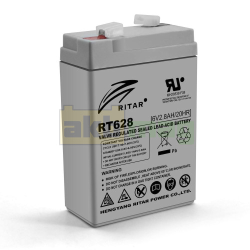 Аккумулятор Ritar RT628