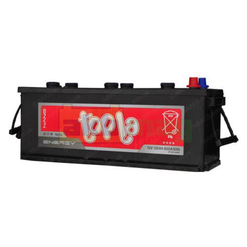 Грузовой аккумулятор Topla 6СТ-135 Energy Truck