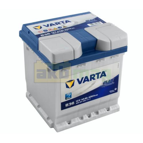 Автомобильный аккумулятор Varta 6СТ-44 B36 Blue Dynamic