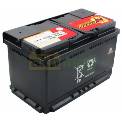 Автомобильный аккумулятор Banner 6СТ-80 Running Bull AGM 58001