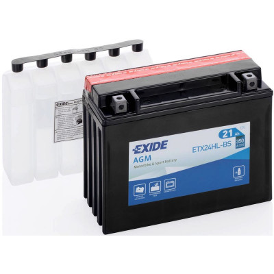 Мото аккумулятор Exide 6СТ-21 ETX24HL-BS