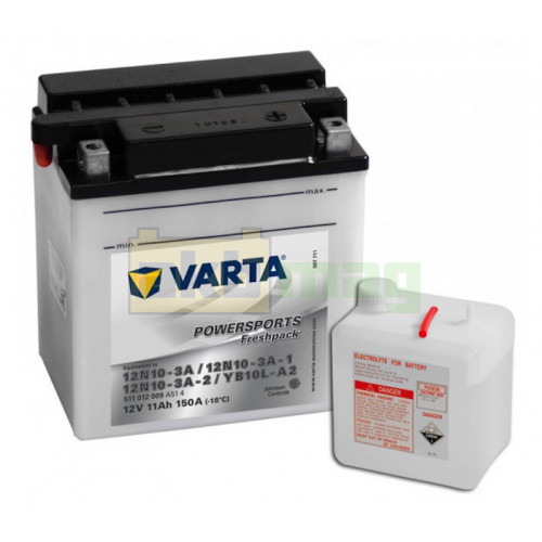 Мото аккумулятор Varta 6СТ-11 PowerSport YB10L-A2
