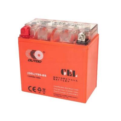 Мото аккумулятор Outdo 6СТ-9 YB9-BS