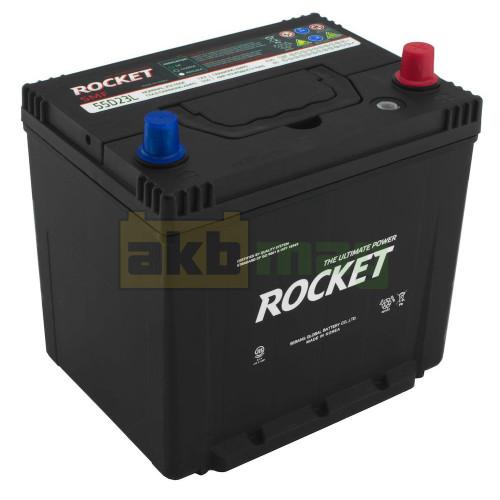 Автомобильный аккумулятор Rocket 6СТ-60 65D23L