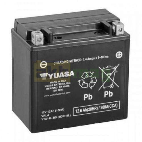 Мото аккумулятор Yuasa 6СТ-12,6 YTX14L-BS