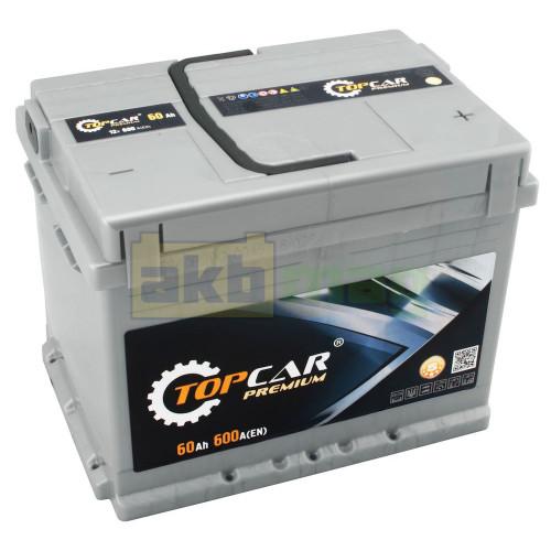 Аккумулятор Top Car 6СТ-60 Premium