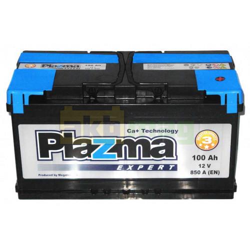 Автомобильный аккумулятор Plazma 6СТ-100 Expert