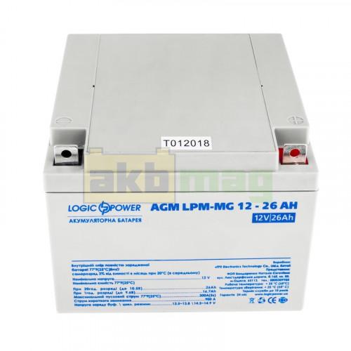 Аккумулятор LogicPower LPM-MG12-26