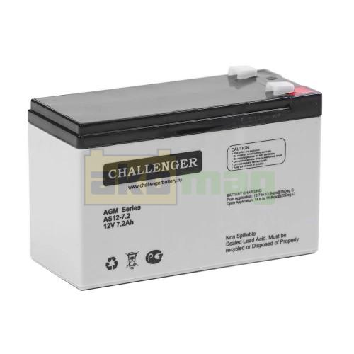 Аккумулятор Challenger AS12-7.2