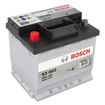 Автомобильный аккумулятор Bosch 6СТ-45 S3 003 0092S30030