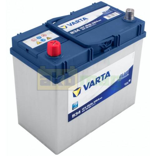 Автомобильный аккумулятор Varta 6СТ-45 B34 Blue Dynamic