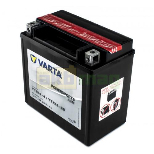 Мото аккумулятор Varta 6СТ-12 PowerSports AGM YTX14-BS