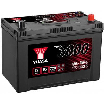 Автомобильный аккумулятор Yuasa 6СТ-95 SMF YBX3335