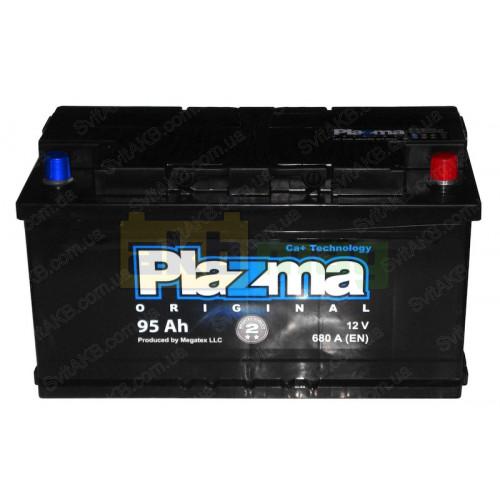 Автомобильный аккумулятор Plazma 6СТ-95 Original