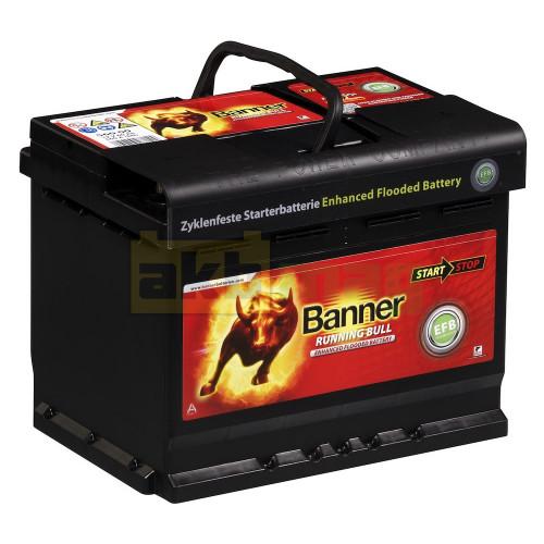 Автомобильный аккумулятор Banner 6СТ-60 Running Bull EFB 56000