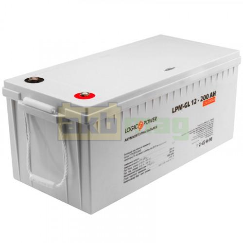 Аккумулятор LogicPower LPM-GL12-200