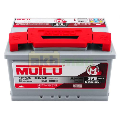 Автомобильный аккумулятор Mutlu 6СТ-78 SFB Series 3 780A