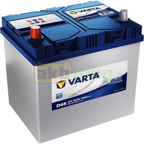 Автомобильный аккумулятор Varta 6СТ-60 D48 Blue Dynamic