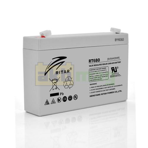 Аккумулятор Ritar RT680