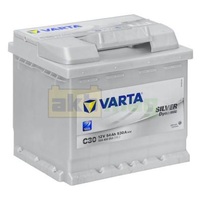 Автомобильный аккумулятор Varta 6СТ-54 C30 Silver Dynamic