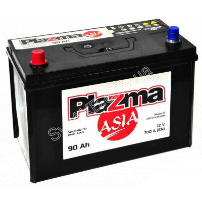 Автомобильный аккумулятор Plazma 6СТ-90 Asia