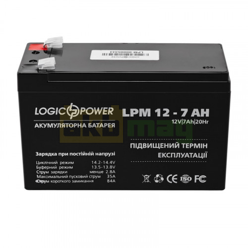 Аккумулятор LogicPower LPM12-7